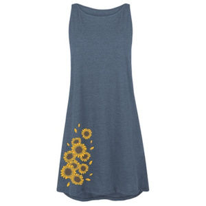 Sunflowers Tank Dress S